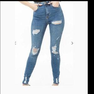 F21 jeans skinny new